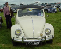 Photograph of Bertie our 1959 Beetle