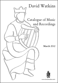 The David Watkins Collection -  Catalogue of Music